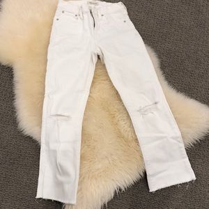 Madewell white jean size 26. In great condition
